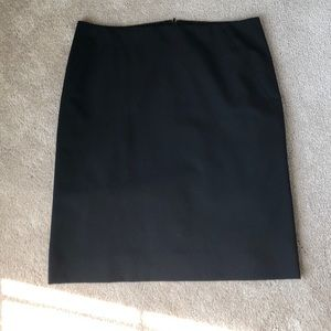 JCrew Suiting Skirt in Black - 6P